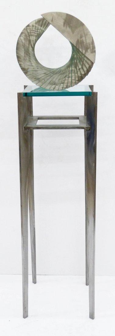 Christopher Lee (b.1951 American) ''Arc VII'' Steel & - 2