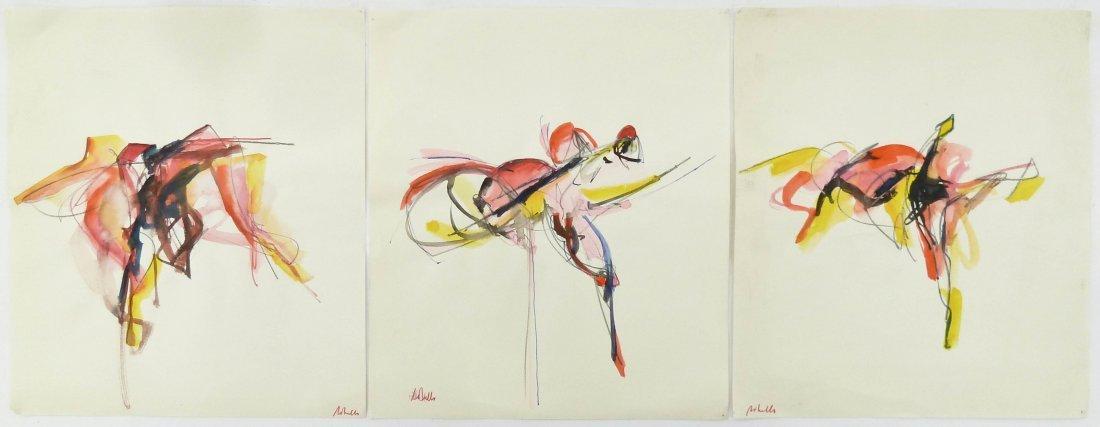 7pc Peter Lobello (1935-2007 American) Artworks.