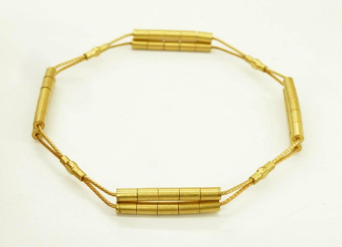 2pc Richard Lippold (1915-2002 American) Gold Wire - 2