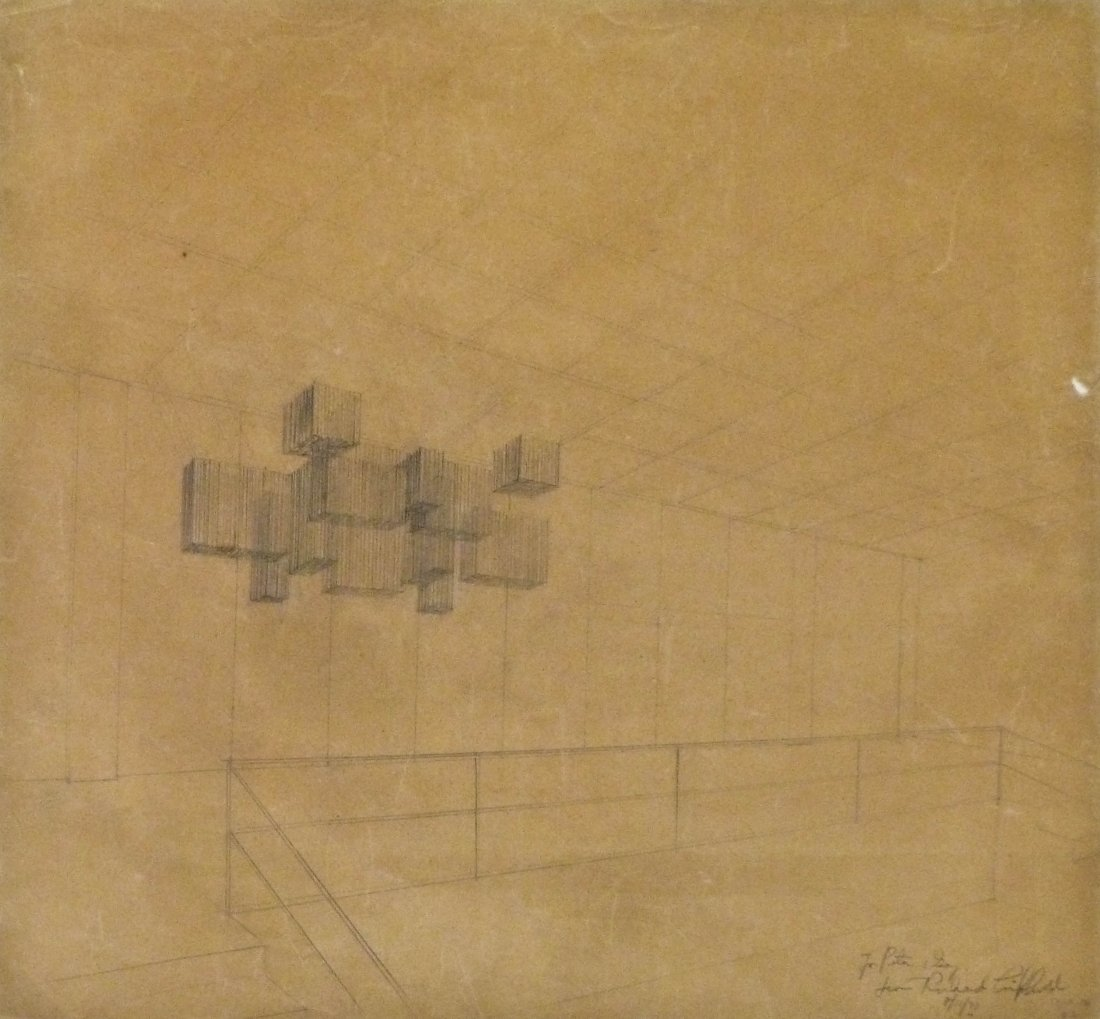 2pc Richard Lippold (1915-2002 American) Gold Wire - 3