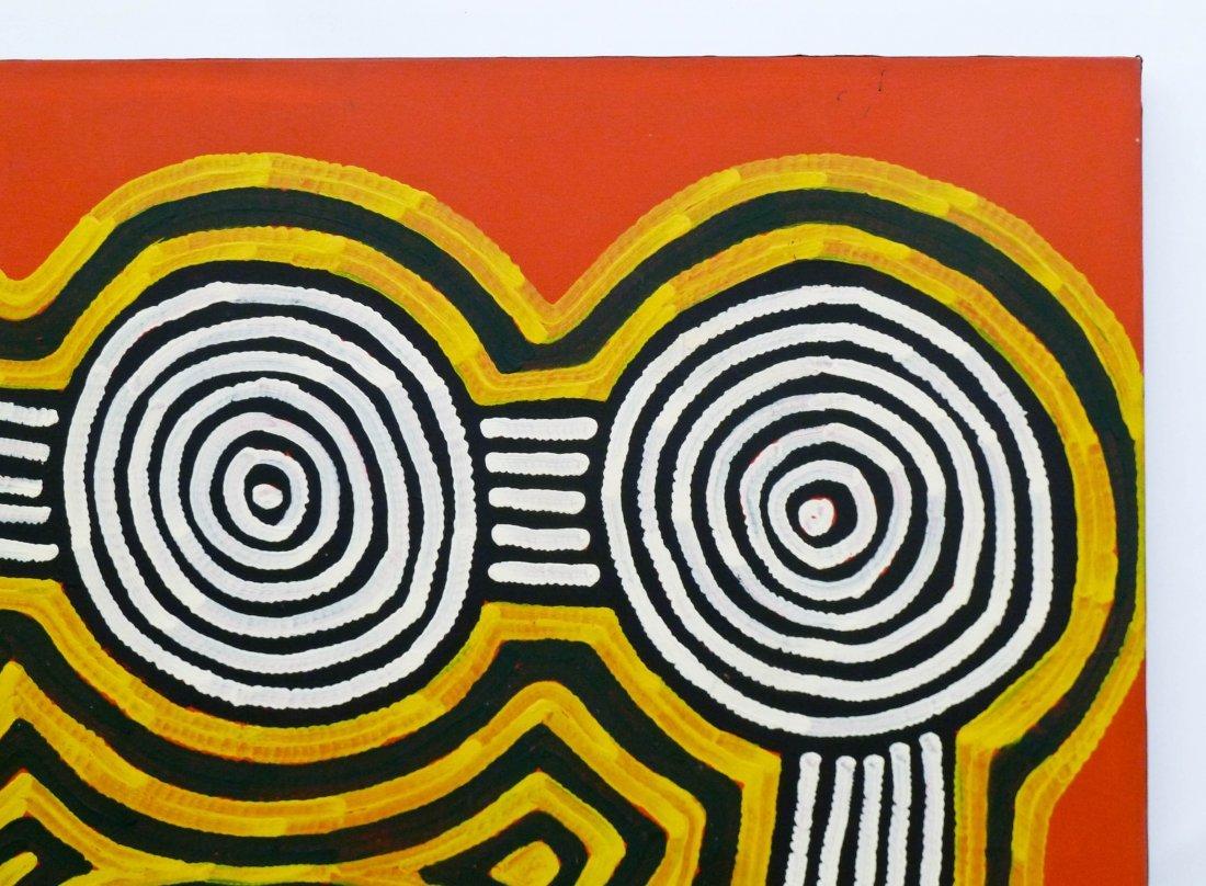 Ronnie Tjampitjinpa (b.1943 Australia) ''Tingari - 2