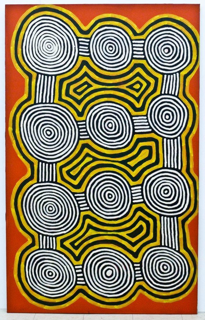 Ronnie Tjampitjinpa (b.1943 Australia) ''Tingari - 5