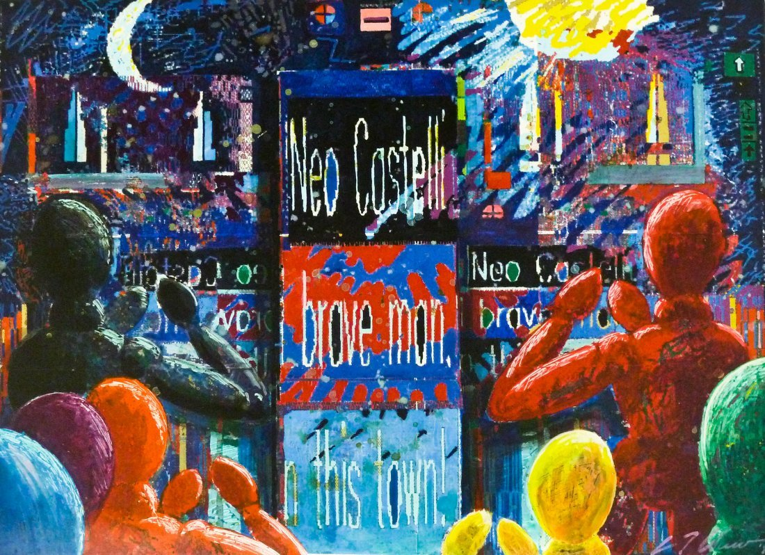 C.T. Chew (b.1948 Washington) ''Neo-Castelli'' 1989