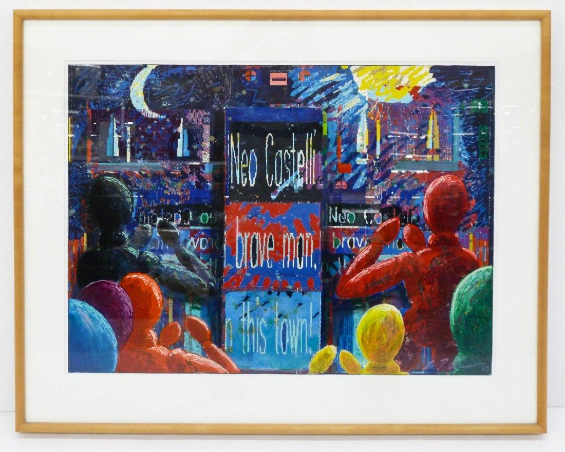C.T. Chew (b.1948 Washington) ''Neo-Castelli'' 1989 - 2