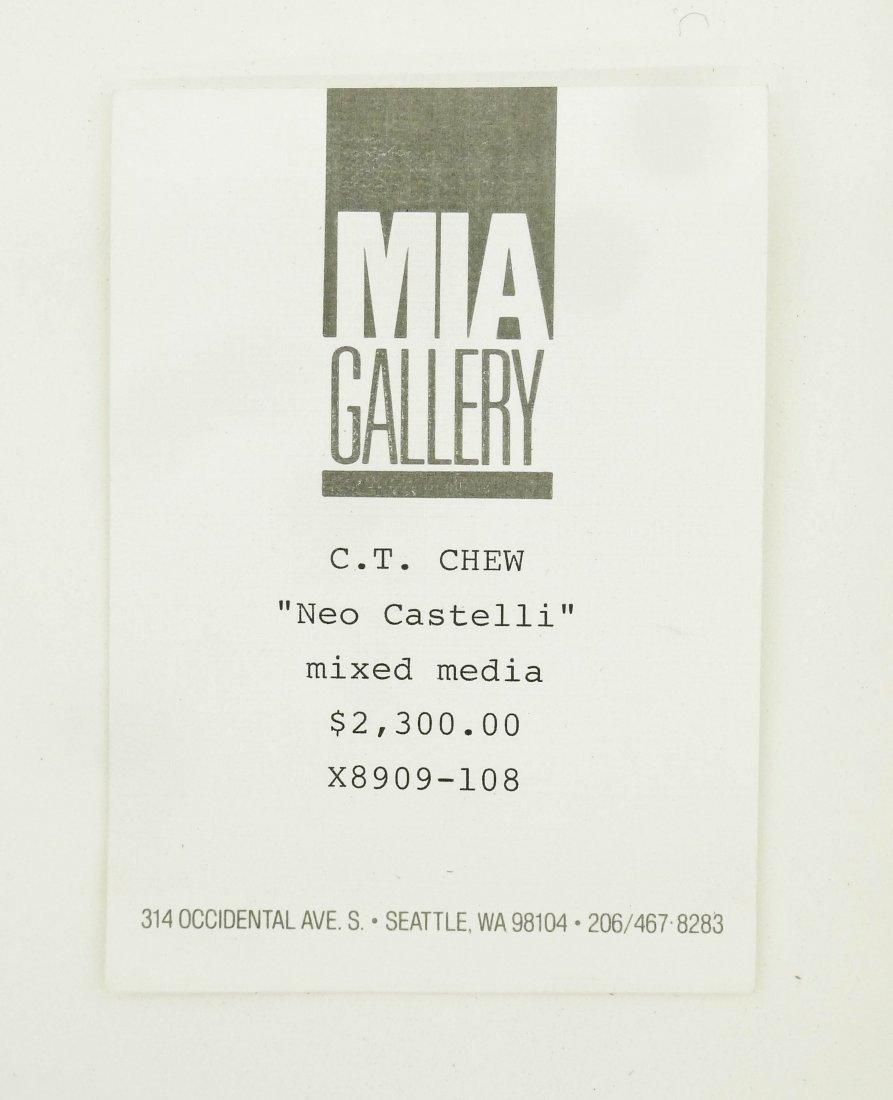 C.T. Chew (b.1948 Washington) ''Neo-Castelli'' 1989 - 3