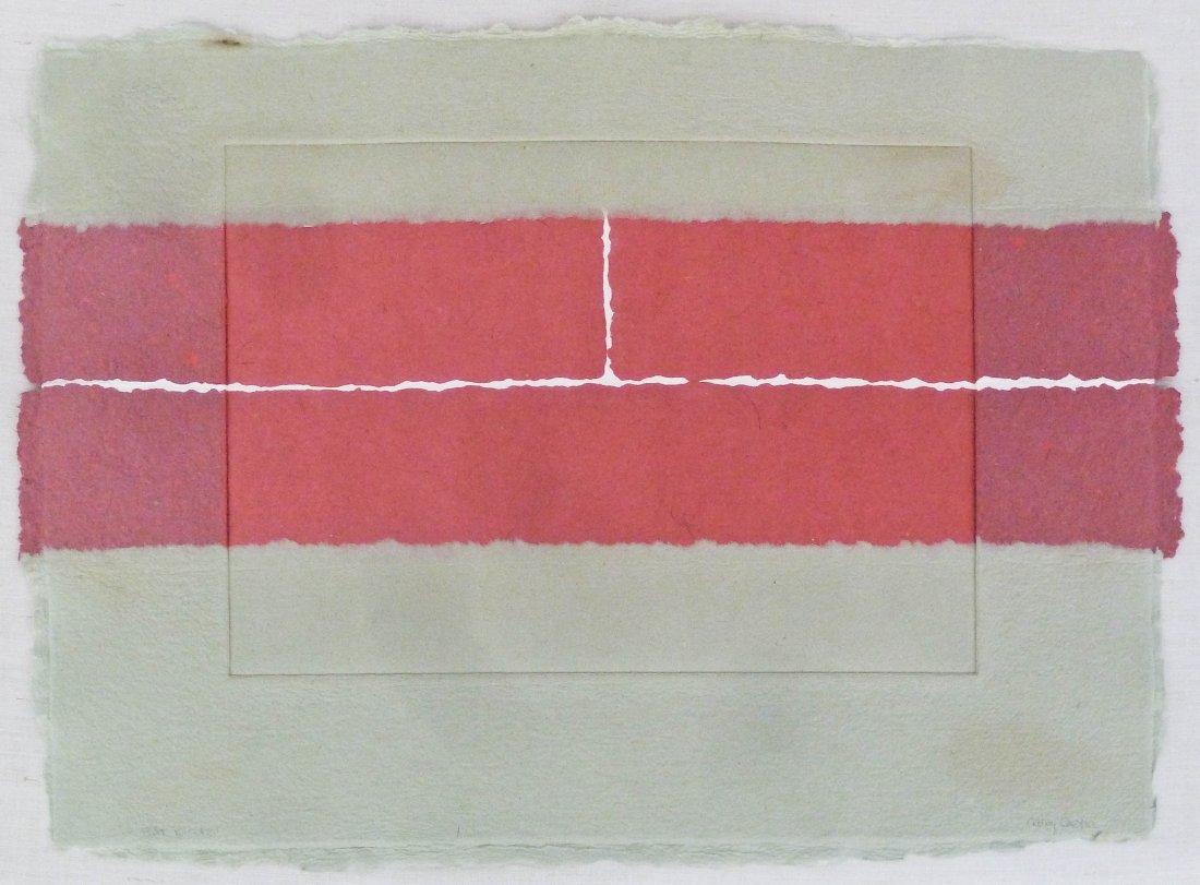 Nancy Genn (b.1929 California) ''Rift Blocks'' 1981