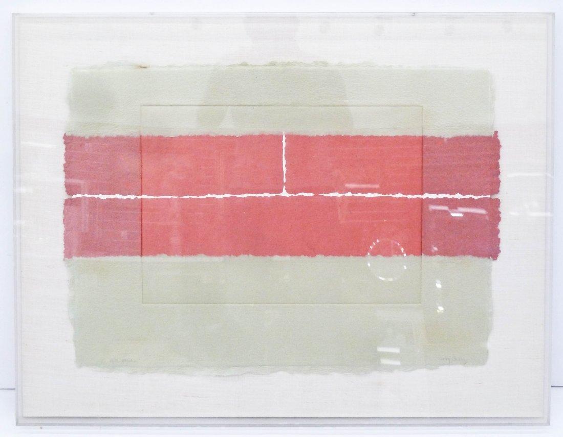 Nancy Genn (b.1929 California) ''Rift Blocks'' 1981 - 2