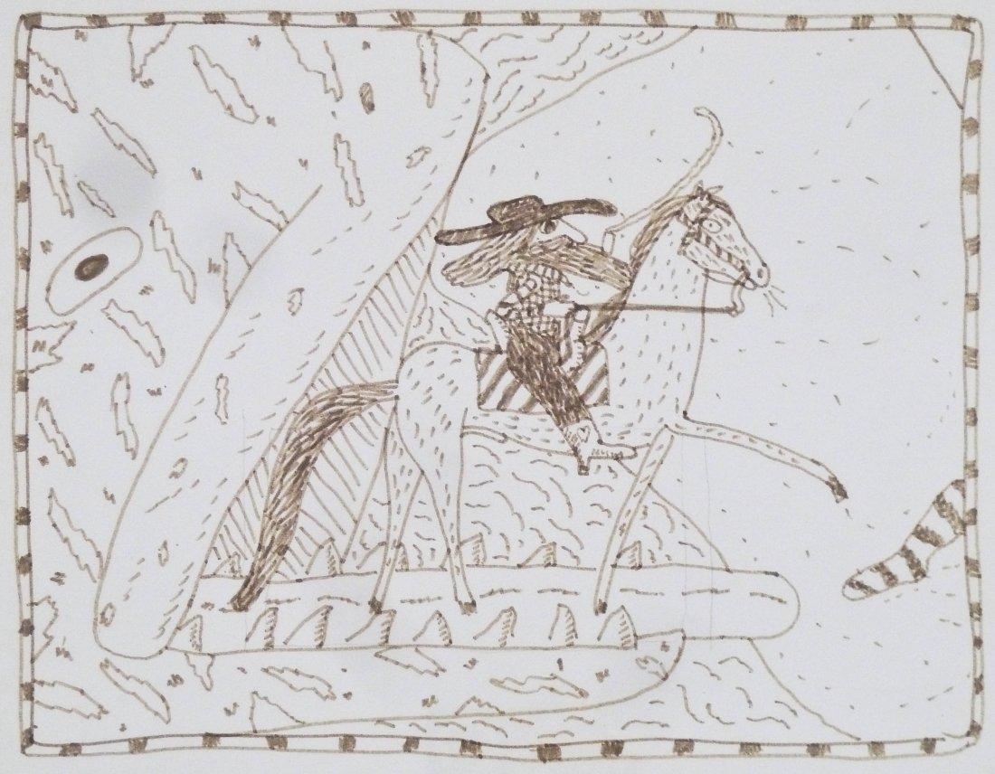 Gaylen Hansen (b.1921 Washington) ''Kernal on Horseback