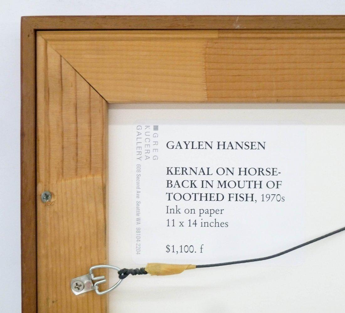 Gaylen Hansen (b.1921 Washington) ''Kernal on Horseback - 3
