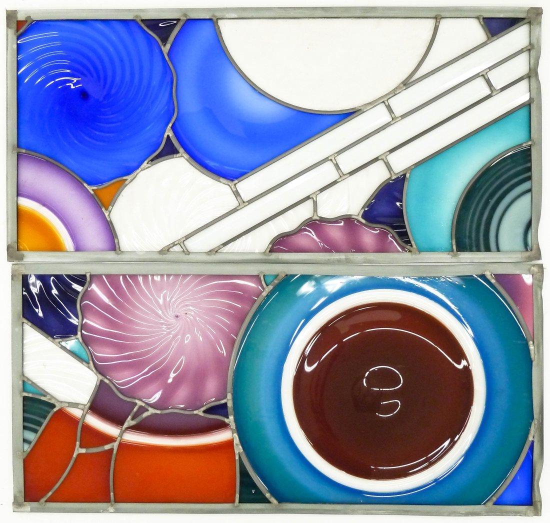 Sonja Blomdahl (b.1952 Washington) Two Incalmo Glass