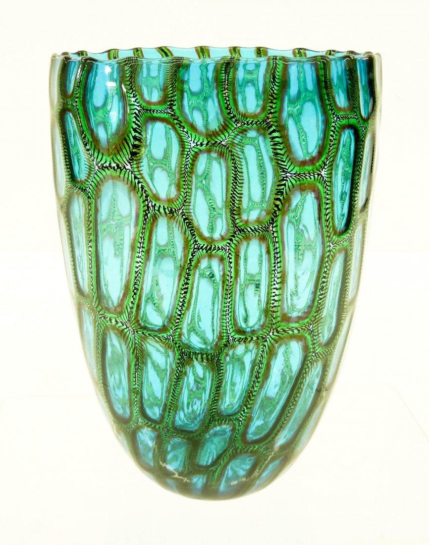 Adriano Dalla Valentina (b.1945 Italian) Murrini Glass