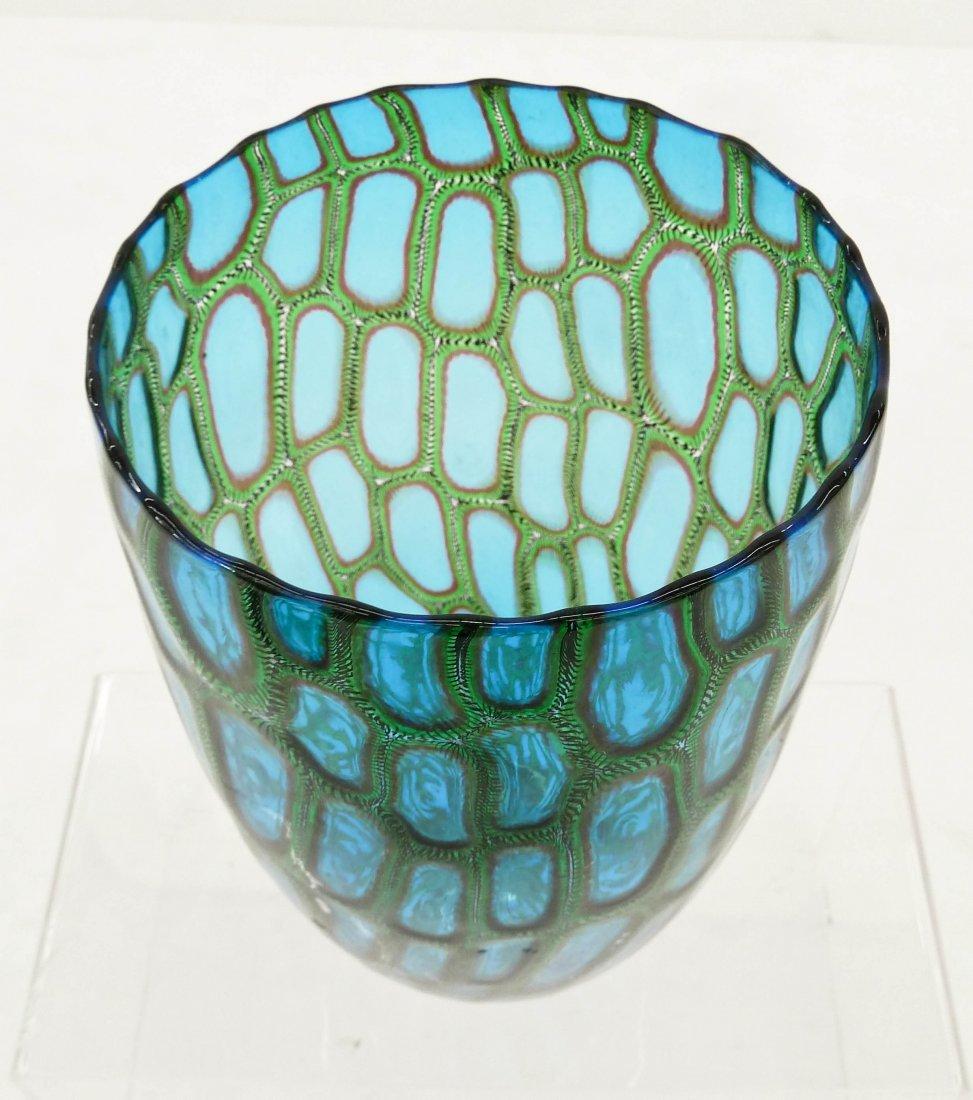 Adriano Dalla Valentina (b.1945 Italian) Murrini Glass - 3