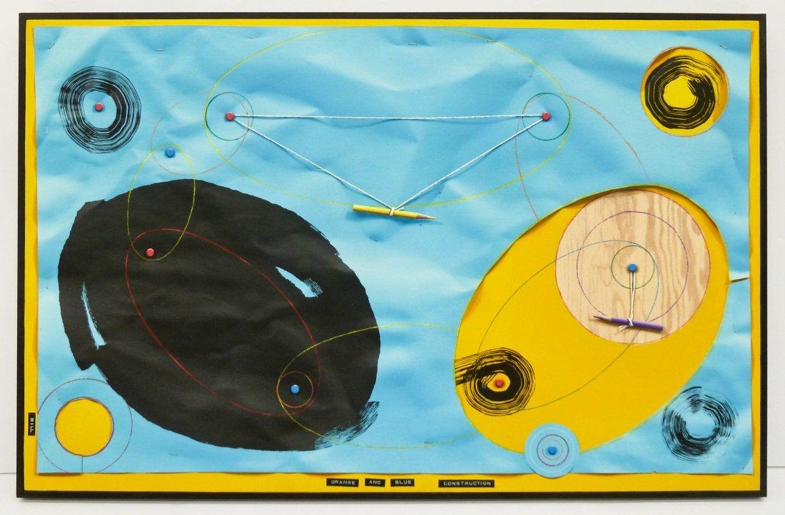Bill Braun (b.1955 Washington) ''Orange and Blue - 2