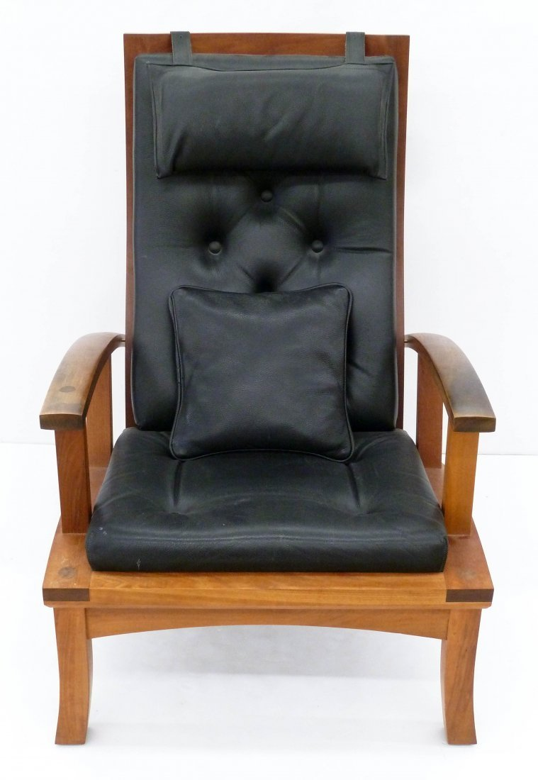 Thomas Moser ''Lolling'' 2000 Lounge Chair - 2