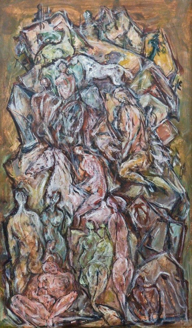 Kenneth Callahan (1905-1986 Washington) ''Mountain of