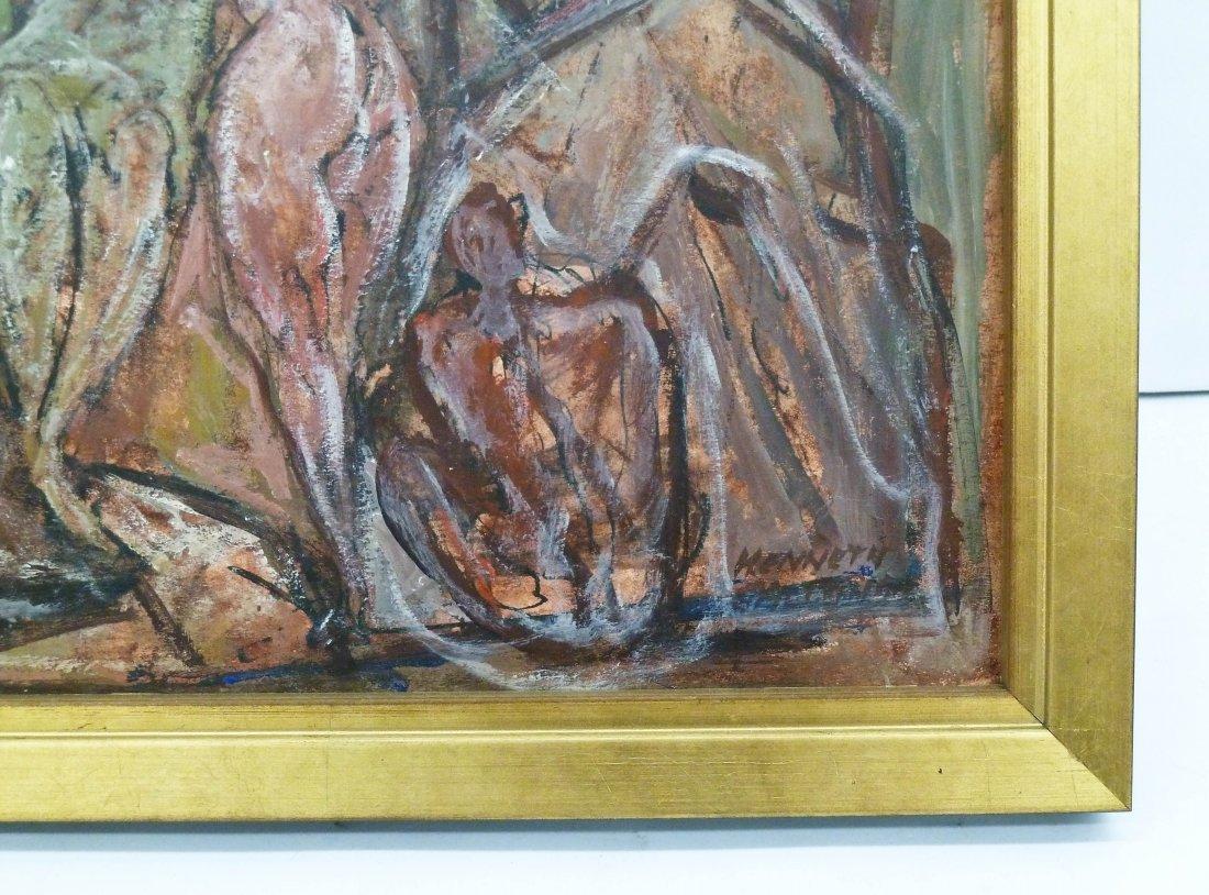Kenneth Callahan (1905-1986 Washington) ''Mountain of - 2