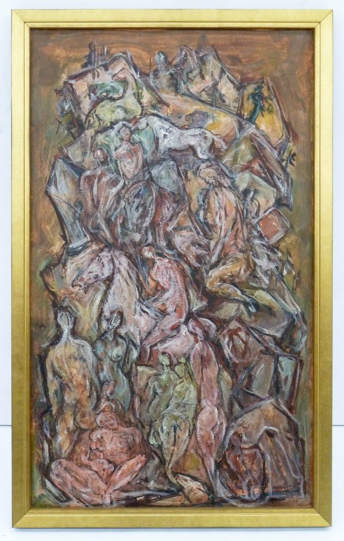 Kenneth Callahan (1905-1986 Washington) ''Mountain of - 3