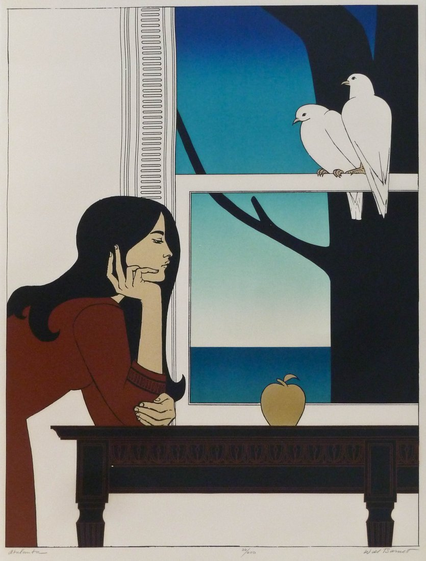 Will Barnet (1911-2012 American) ''Atalanta'' 1976