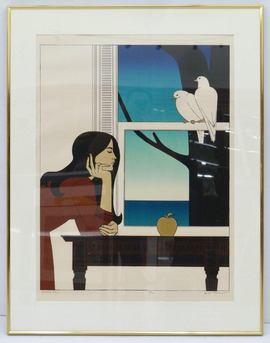Will Barnet (1911-2012 American) ''Atalanta'' 1976 - 2
