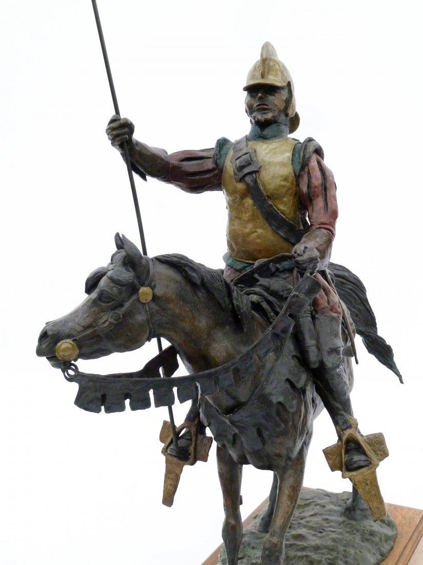 Skip Glomb (1935-1988 Wyoming) Untitled Conquistador - 4