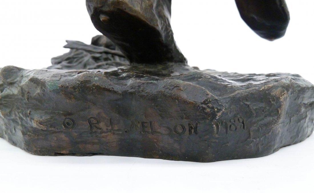 After Louis Potter (1873-1912 New York) ''Fallen - 6