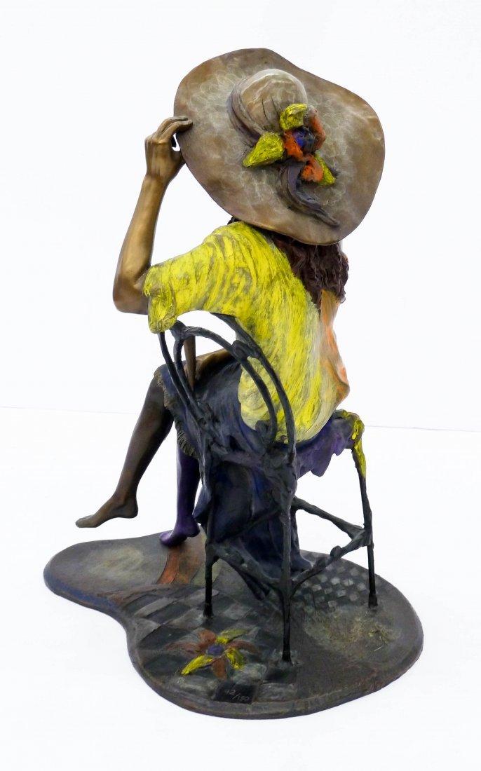 Isaac Maimon (b.1951 Israel) ''Coquette'' 1995 Bronze - 3