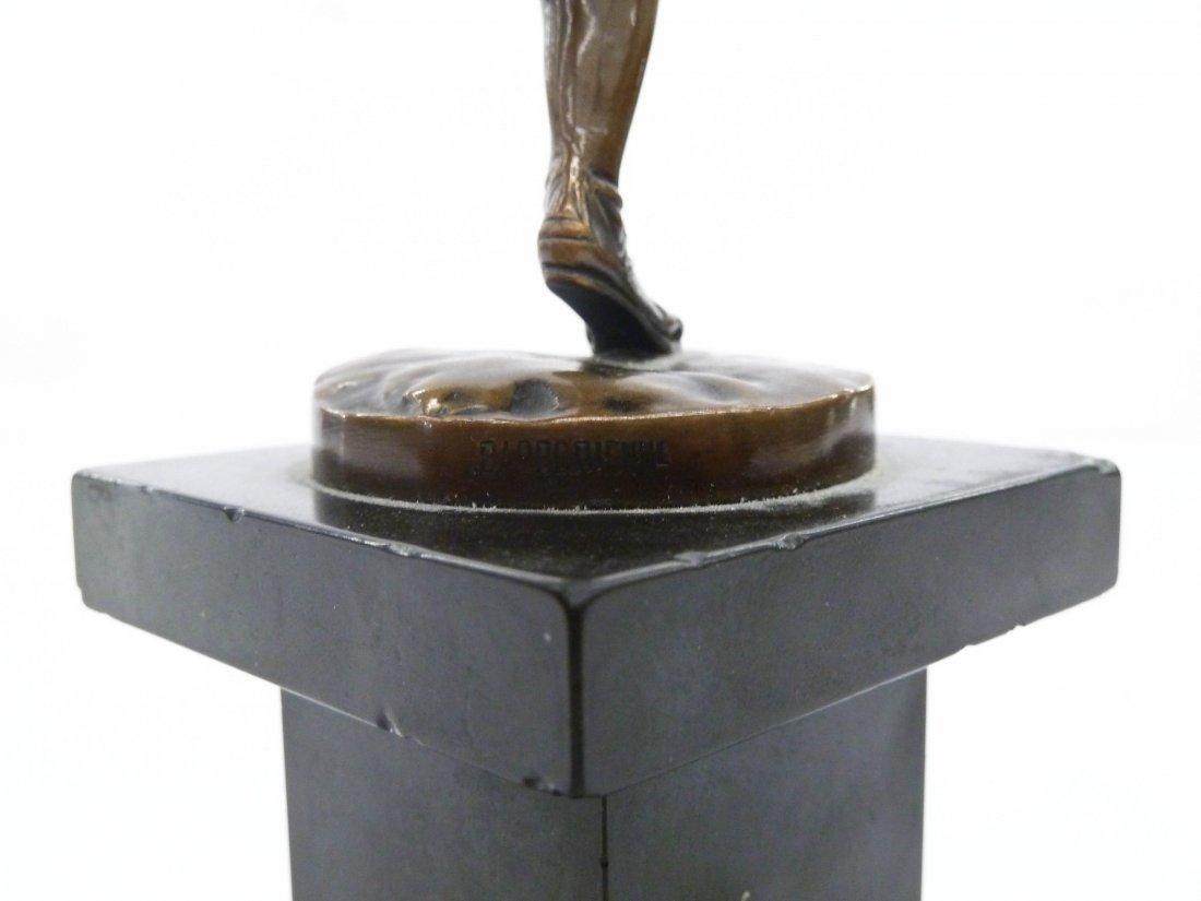Antique Barbedienne ''Hippomenes'' Neoclassical Bronze - 2