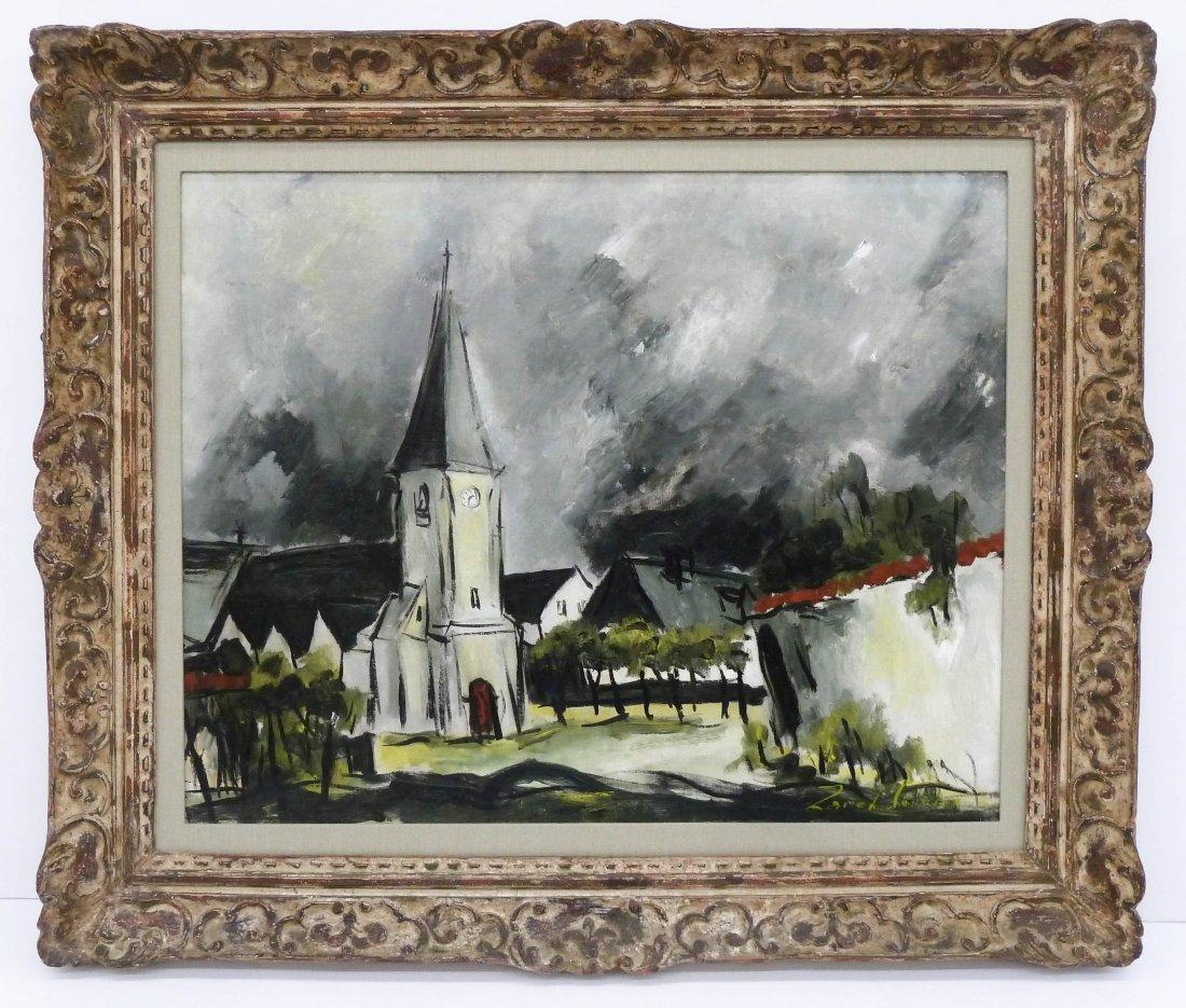 Zareh Sourian (1904-1967 New York) ''Saint Aignan - 2