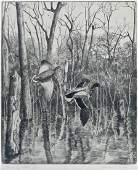 Walter E Bohl 19071990 Illinois Two Wildlife