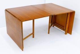 Bruno Matthson ''Maria'' Teak Folding Dining Table