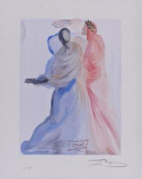 Salvador Dali ''The Splendor of Beatrice'' 1960
