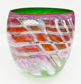 Dale Chihuly (b.1941 American) Large Soft Cylinder 1989