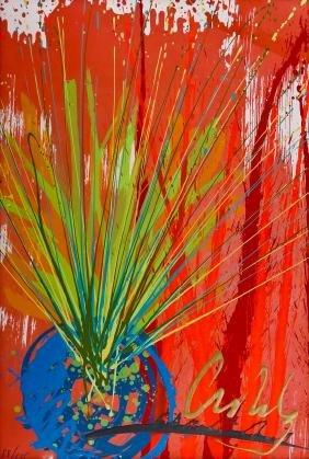 Dale Chihuly ''Fiesta Ikebana'' 2003 Intaglio