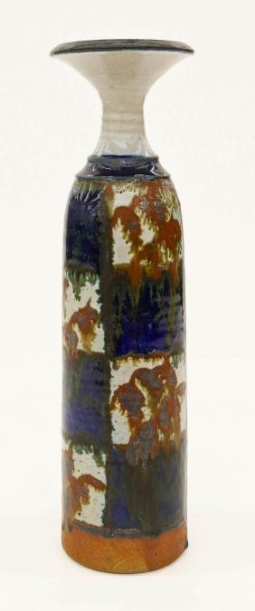 Robert Sperry (1927-1998 American) Checkered Vase