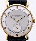 Vintage Vacheron & Constantin 18k Model 494 Wristwatch.