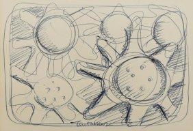 George Tsutakawa (1910-1997 Washington) Abstract Forms