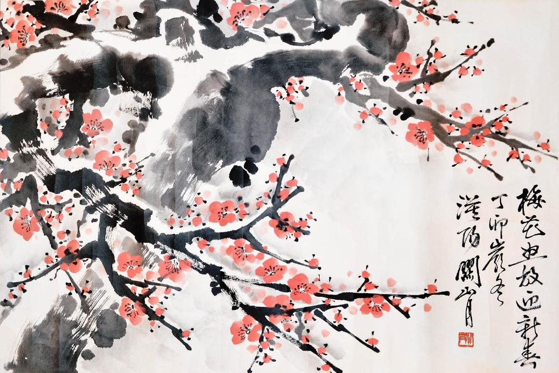 Guan Shanyue Spring Time Plum Blossom