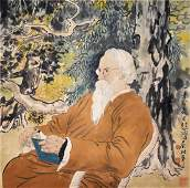 Xu Beihong Portrait of  Rabindranath Tagore