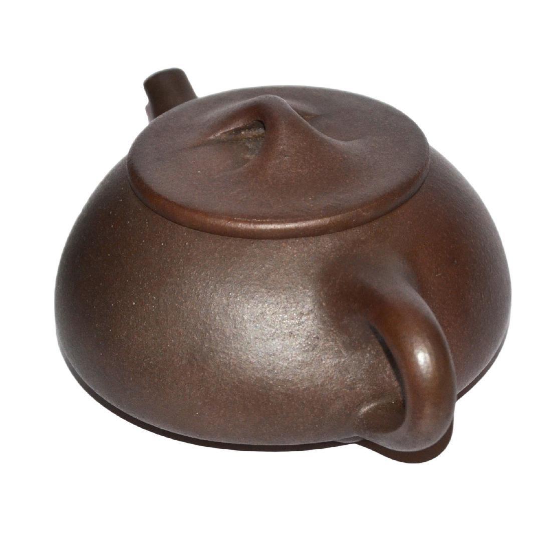 Gu Jingzhou, Stone-spoon Yixing Zisha Teapot - 2