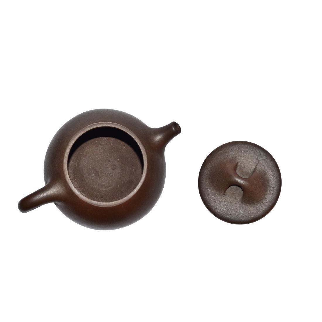 Gu Jingzhou, Stone-spoon Yixing Zisha Teapot - 4