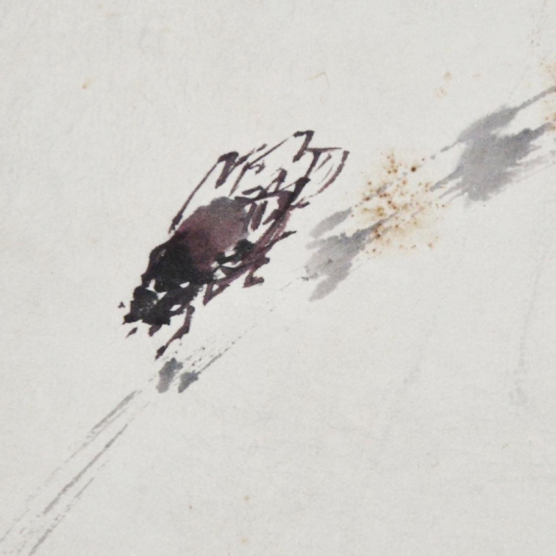Gao Jianfu Cicada and Crow - 5