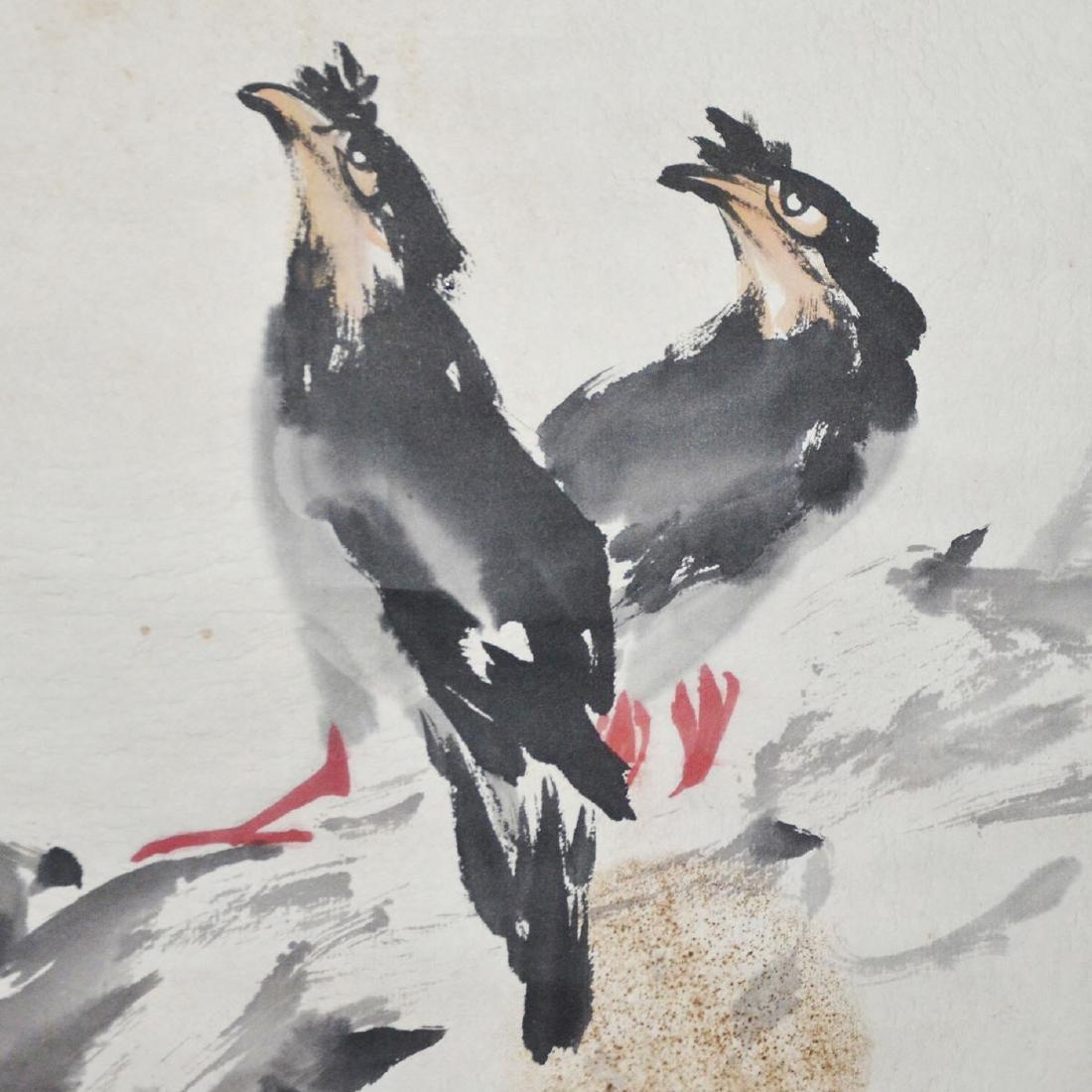 Gao Jianfu Cicada and Crow - 7