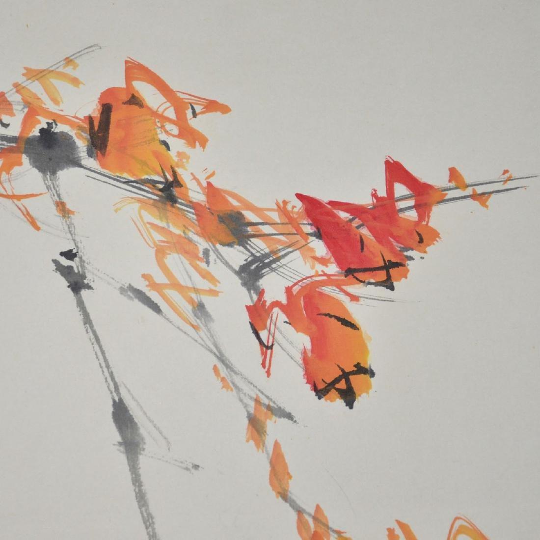 Zhao Shaoang Bird on Maple - 5
