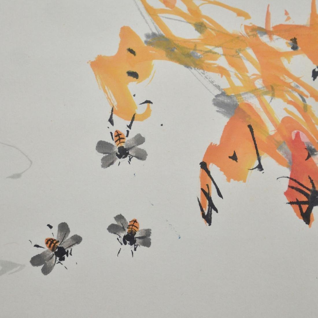 Zhao Shaoang Bird on Maple - 6