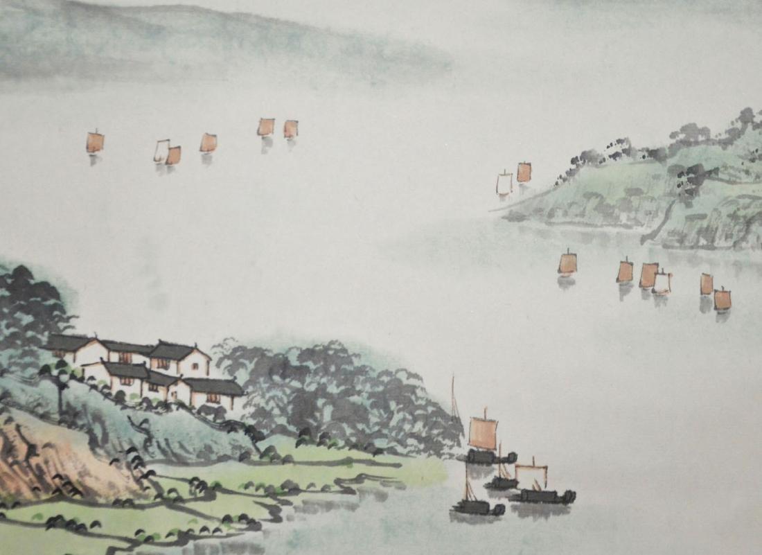 Song Wenzhi Morning at Lake Dongting - 5