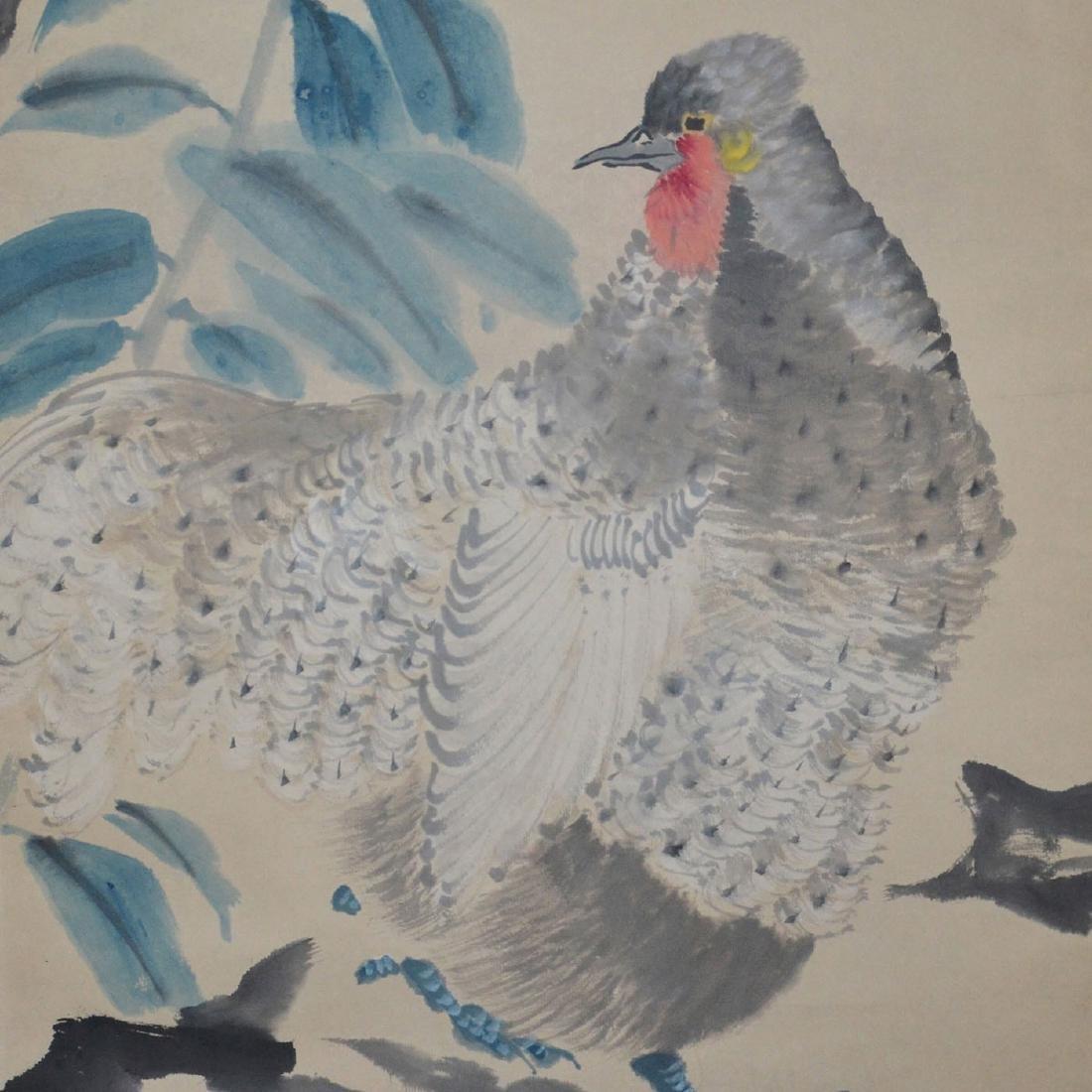 Ren Yi(Bonian) Qing Dynasty Bird and Flower - 6