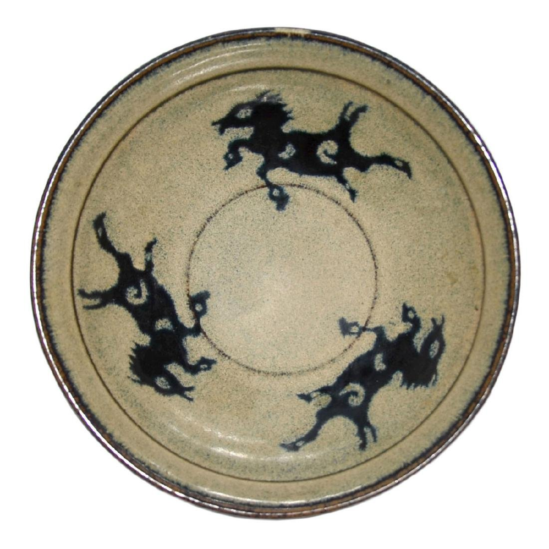 Song Dynasty, Jizhou Paper-Cut Decorated Flying Horses