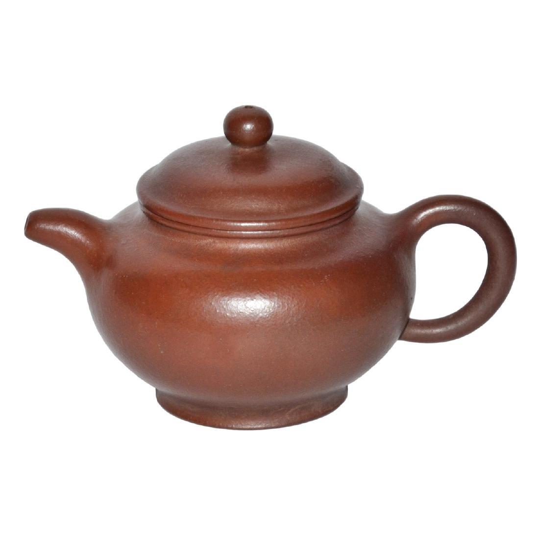 Gu Jingzhou, Zisha Teapot with Round Knop