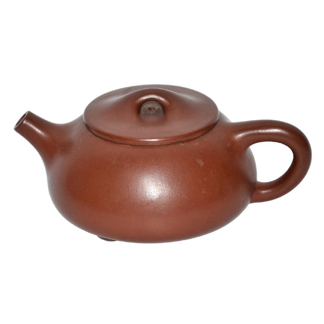 Gu Jingzhou, Stone-spoon Yixing Zisha Teapot