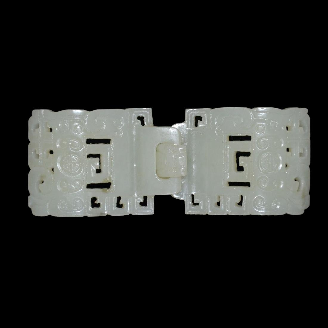 White Jade Belt Buckles